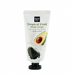 Крем для рук с авокадо и маслом ши, FarmStay Tropical Fruit Hand Cream - Avocado & Shea Butter