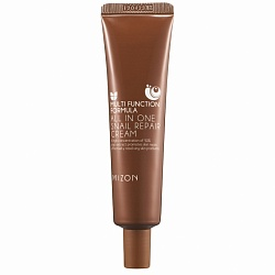 Крем для лица с муцином улитки, Mizon All in One Snail Repair Cream (Tube) 35мл