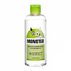 Мицеллярная вода 300 мл, Etude House Monster Micellar Cleansing Water