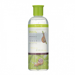 Тонер для лица с муцином улитки, FarmStay Snail Visible Difference Moisture Toner