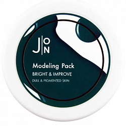 Альгинатная маска для выравнивания тона, J:ON Bright & Improve Modeling Pack